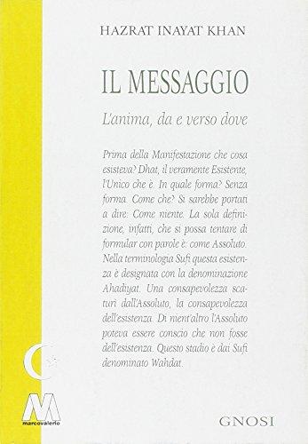 9788875472863: Il messaggio