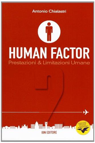9788875651473: Human factor vol. 2 - Prestazioni & limitazioni umane