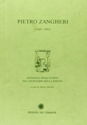 9788875672034: Pietro Zangheri. Antologia degli scritti