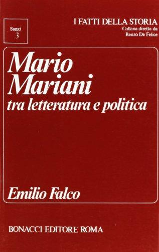 Mario Mariani tra letteratura e politica.: Falco,Emilio.