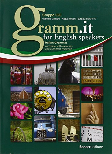 9788875734305: Gramm.it for english-speakers. Livello A1-C1