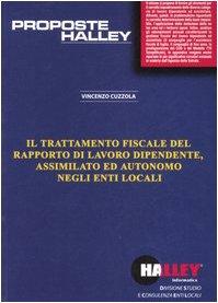 Il trattamento fiscale del rapporto di lavoro: Cuzzola, Vincenzo