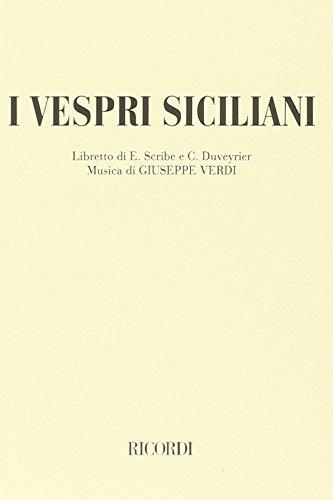 I Vespri siciliani.: Scribe,E. Duveyrier,C. (libretto di).