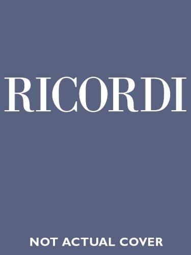 9788875924133: Turandot. Dramma lirico in tre atti e cinque scene. Musica di G. Puccini. Ediz. inglese