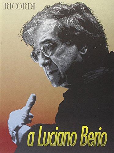 9788875924836: Dedicato a Luciano Berio
