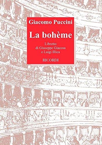 9788875927097: La bohème : Oper in 4 Akten Libretto (it)
