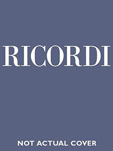 9788875927806: LINDA DI CHAMOUNIX VOCAL SCORE BASED ON THE CRITICAL EDITION