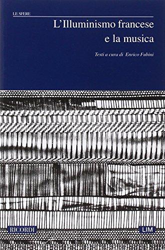 9788875928476: L'illuminismo francese e la musica