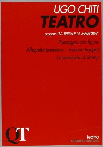 Teatro (Quaderni di teatro): Ugo Chiti