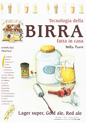 9788876112812: Tecnologia della birra fatta in casa. Lager super, gold ale, red ale