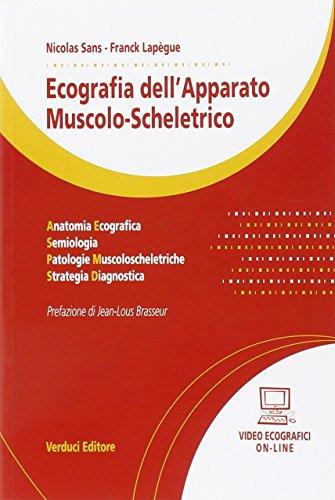9788876208454: Ecografia dell'apparato muscolo-scheletrico