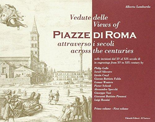 9788876212789: Vedute delle piazze di Roma attraverso i secoli