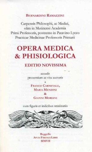 9788876220494: Opere. Opera medica e phisiologica