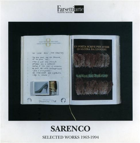 9788876221538: Sarenzo. Dialogo tra Enrico Mascelloni e Sarenco. Selected works 1963-1994