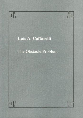 The obstacle problem (Lezioni Fermiane): Luis A. Caffarelli
