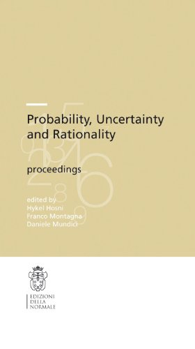 9788876423475: Probability, uncertainty and rationality (Publications of the Scuola Normale Superiore / CRM Series)