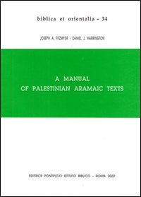 9788876533341: A Manual of palestinian aramaic texts