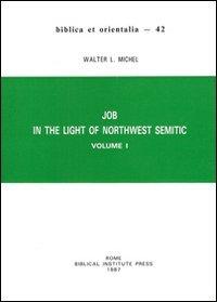 9788876533433: Job in the Light of Northwest Semitic: Volume I (Biblica Et Orientalia)