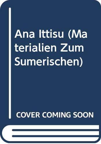 9788876534539: M.S.L. Vol. 1 Ana Ittisu: Materialien Zum Sumerischen Lexikon Vokabulare Und Formularbucher