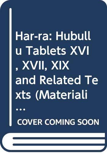 M.S.L. Vol. 10 the Series Har-Ra =: Civil, M; Landsberger,