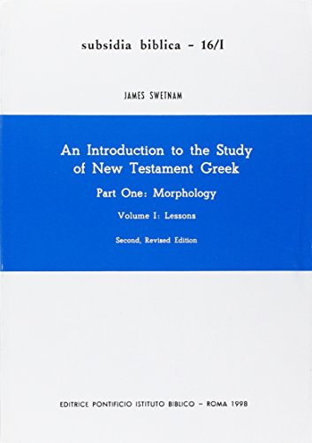 An Introduction to the Study of New: SWETNAM (James)