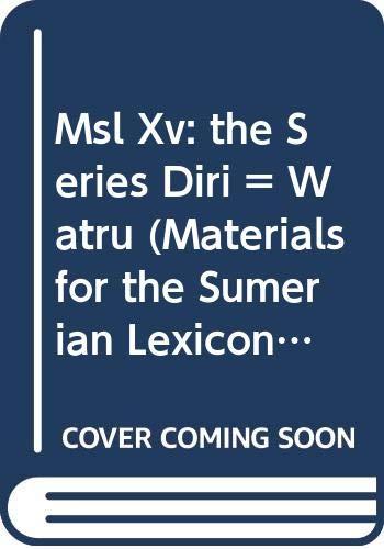 M.S.L. Vol. 15 the Series Diri =: Civil, M
