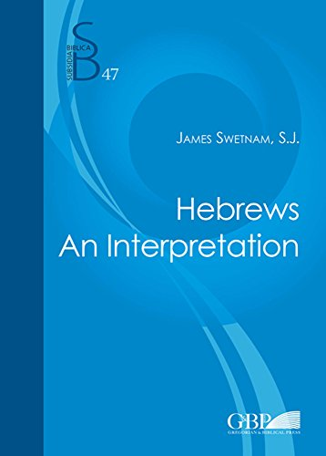 9788876536885: Hebrews. An interpretation (Subsidia Biblica)