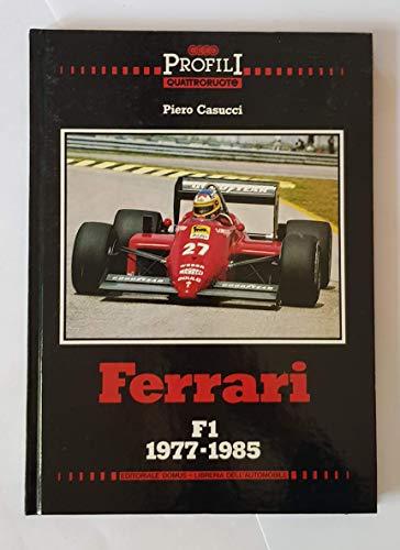 9788876720161: Ferrari F1 1977-1985