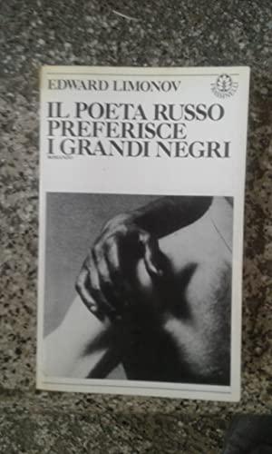 9788876840272: Il poeta russo preferisce i grandi negri