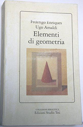 9788876923401: Elementi di geometria