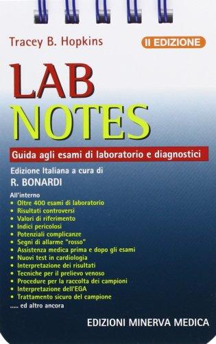 9788877115249: Lab notes. Guida agli esami di laboratorio e diagnostici