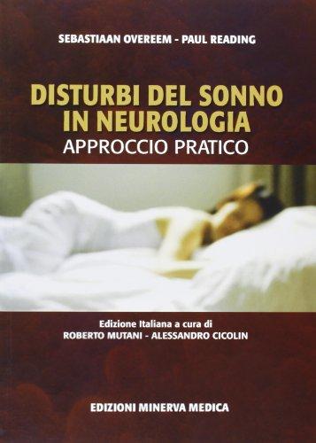 9788877117083: Disturbi del sonno in neurologia. Approccio pratico