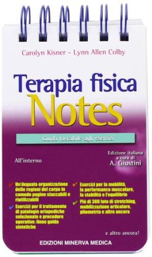 9788877117137: Terapia fisica Notes. Guida tascabile agli esercizi