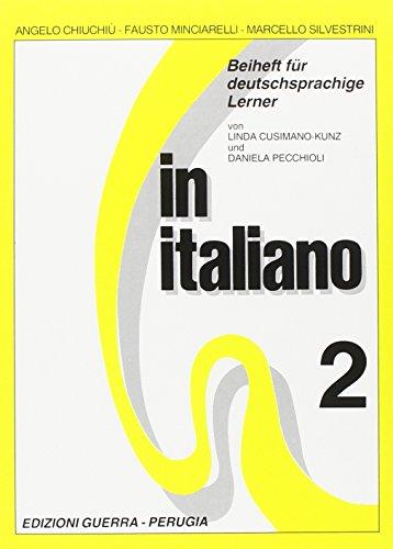 9788877150417: In italiano. Beiheft für deutschsprachige Lehrer vol. 2
