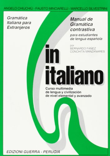 9788877150479: In italiano. Manual de gramàtica contrastiva para estudiantes de lengua espanola