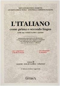 L'italiano come prima o seconda lingua nelle: n/a