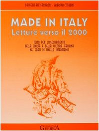 9788877151902: Made in Italy - Letture Verso Il 2000 (Italian Edition)