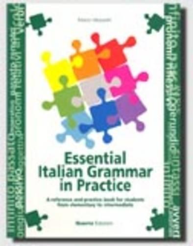 Grammatica Essenziale Della Lingua Italiana Con Esercizi:
