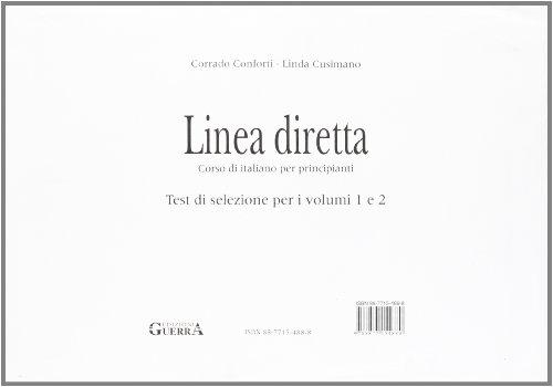 Linea Diretta: Test DI Selezione Per I: Corrado Conforti