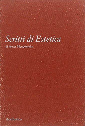 9788877260659: Scritti di estetica