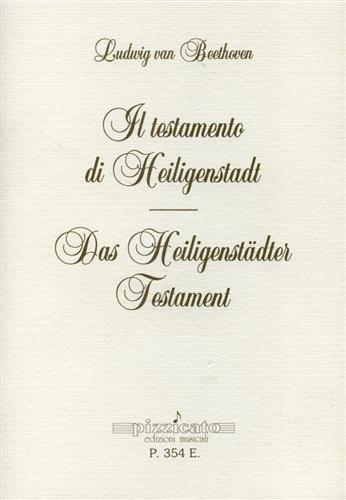 9788877363541: Il testamento di Heiligenstadt-Das Heiligenstädter Testament