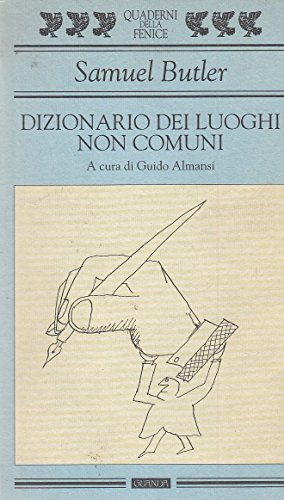 9788877463289: Dizionario dei luoghi non comuni