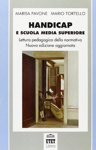 HANDICAP E SCUOLA MEDIA SUPERIORE. UNA LETTURA: MARISA PAVONE