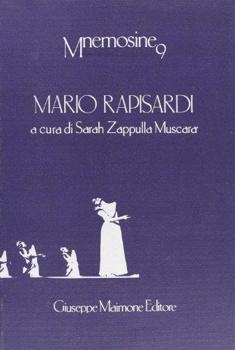 9788877510341: Mario Rapisardi (Mnemosine)