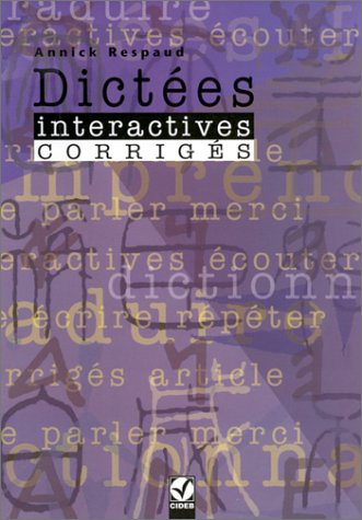 9788877543219: Dictees Interactives: Corriges
