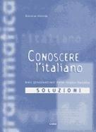 9788877543516: Conoscere l'italiano. Soluzioni (Italiano.Corsi)