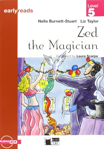 9788877546128: Zed the magician. Con audiolibro (Primaria.English letture) - 9788877546128
