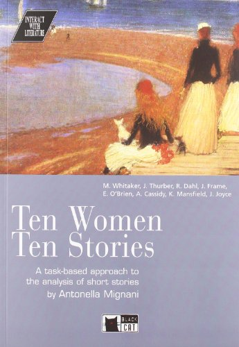 9788877547491: Ten Women Ten Stories+cd (Interact with Literature)