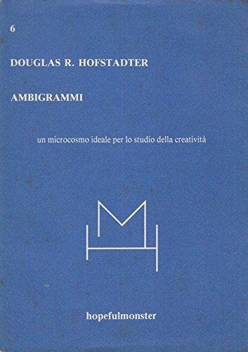 9788877570062: Ambigrammi: Un microcosmo ideale per lo studio della creativita (Italian Edition)