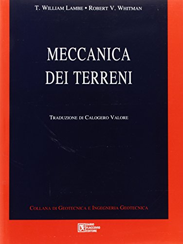Meccanica dei terreni: T. William Lambe;
